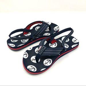 REEF Ahi Sandal Flip Flops w/ Back Strap Sz 11/12
